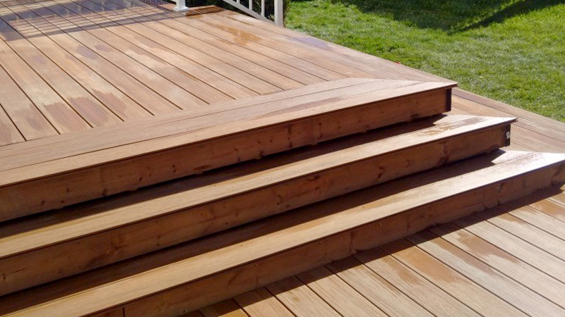 What kind of wood should I use for a deck? Composite