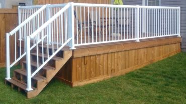 types of deck skirting
